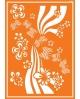 Javana trafaretai A4 (Flower Power)