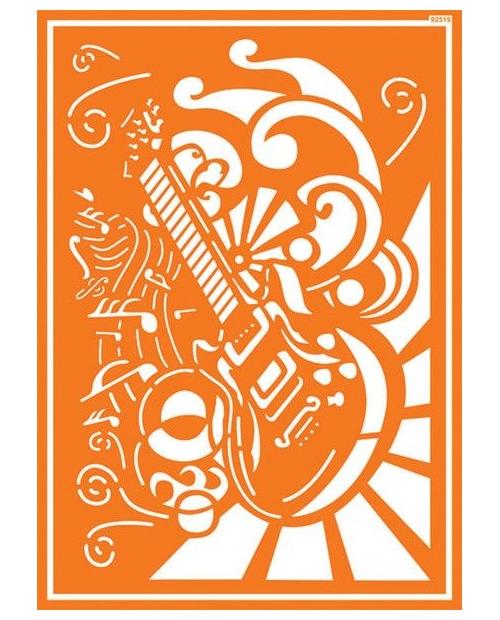 Javana trafaretai A4, Rokenrolas (Rock' n Roll)