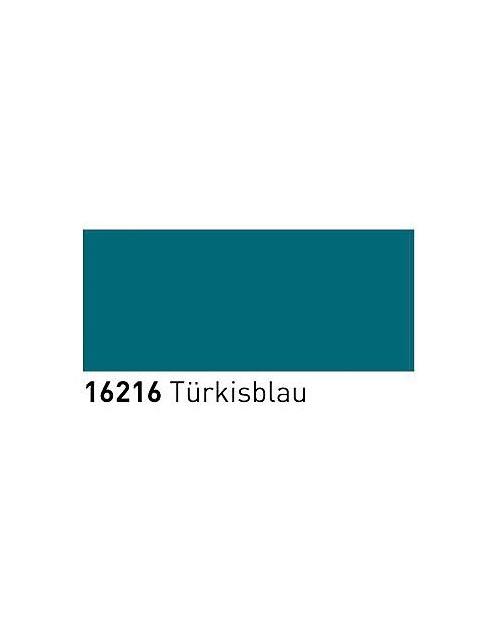 Dažai porcelianui, keramikai (buteliukas 20ml) Turkio mėlyna (Turquoise Blue)