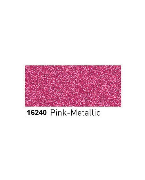 Dažai porcelianui su metalo blizgesio efektu (buteliukas 20ml) Rožinė (Pink)