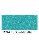 Dažai porcelianui su metalo blizgesio efektu (buteliukas 20ml) Turkis (Turquoise)