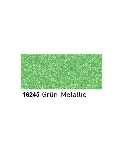 Dažai porcelianui su metalo blizgesio efektu (buteliukas 20ml) Žalia (Green)