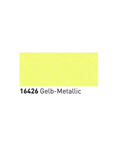 Markeriai porcelianui, keramikai su metalo blizgesio efektu (2-4mm), Geltona (Yellow)