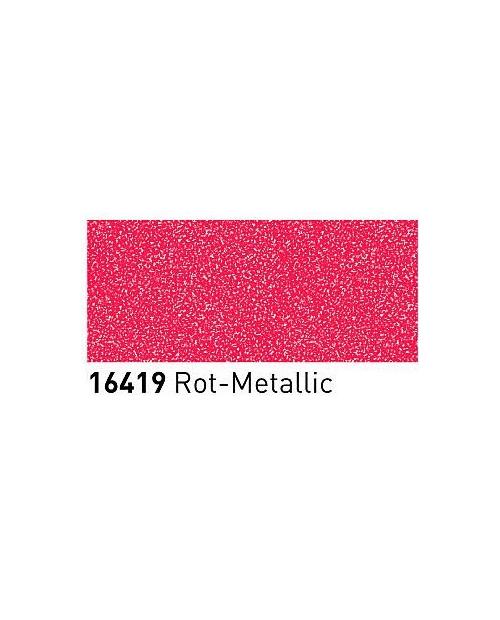 Markeriai porcelianui, keramikai su metalo blizgesio efektu (2-4mm), Raudona (Red)