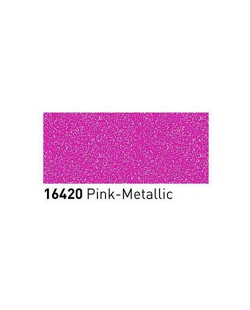 Markeriai porcelianui, keramikai su metalo blizgesio efektu (2-4mm), Rožinė (Pink)