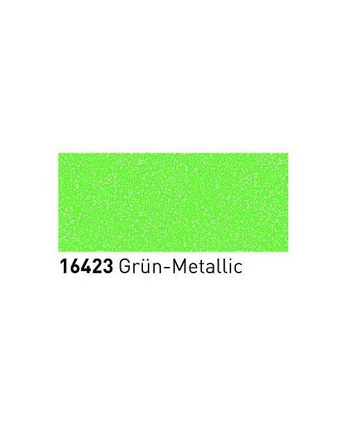 Markeriai porcelianui, keramikai su metalo blizgesio efektu (2-4mm), Žalia (Green)