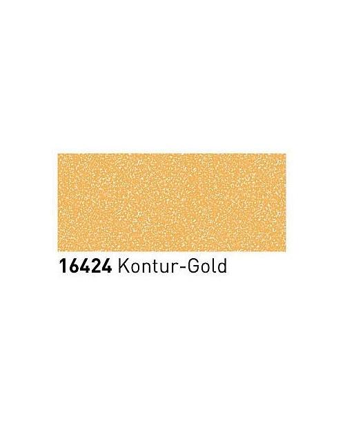 Markeriai porcelianui, keramikai su metalo blizgesi oefektu (1-2mm), Kontūras auksas (Contour Gold)