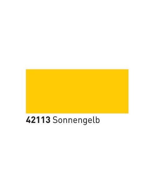 Dažai ART stiklas+porcelianas (buteliukas 55ml), Saulės geltona (Sun Yellow)
