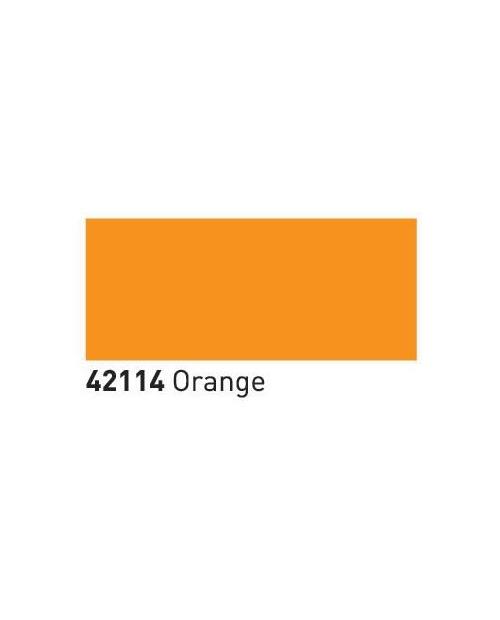 Dažai ART stiklas+porcelianas (buteliukas 55ml), Oranžinė (Orange)