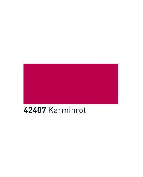 Skaidrūs dažai stiklui, keramikai (buteliukas 20ml), Karmino raudona (Carmine Red)
