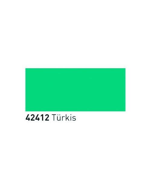 Skaidrūs dažai stiklui (buteliukas 20ml), Turkis (Turquoise)