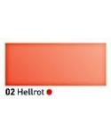 """""""Vitražiniai"""" skaidrūs dažai (Transparent Glass Paint) 20ml, Šviesi raudona (Light Red)"""