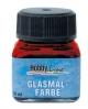 """""""Vitražiniai"""" permatomi dažai GLASMAL FARBE(20ml)Dark Red"""