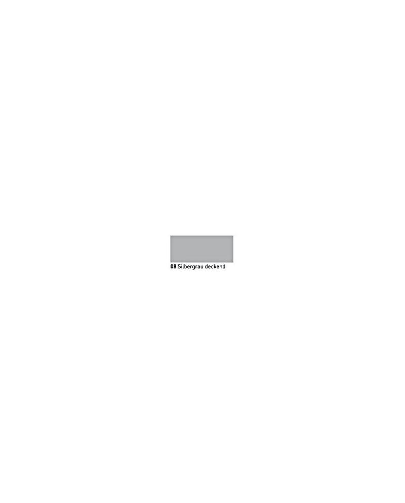 """""""Vitražiniai"""" permatomi dažai GLASMAL FARBE(20ml)Silver Gray opaque"""