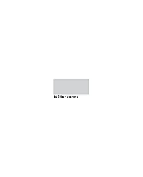"""""""Vitražiniai"""" dažai (Transparent Glass Paint) 20ml, Sidabrinė dengianti (Silver opaque)"""