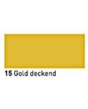 """""""Vitražiniai"""" dažai (Transparent Glass Paint) 20ml, Auksinė dengianti (Gold opaque)"""
