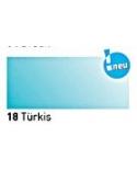 """""""Vitražiniai"""" skaidrūs dažai (Transparent Glass Paint) 20ml, Turkis (Turquoise)"""