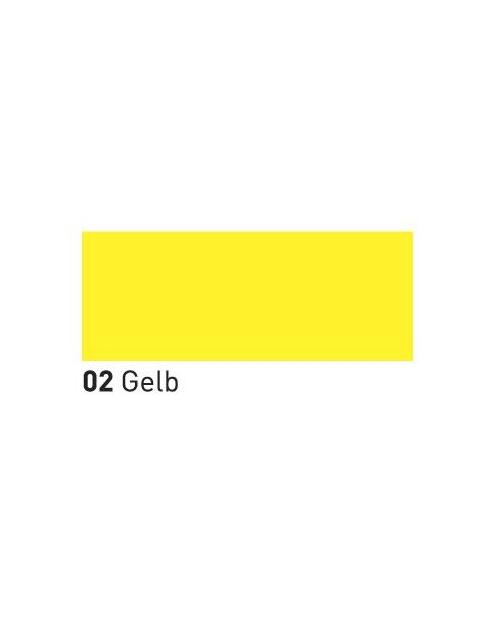 """MUCKI """"pirštukų"""" dažai 150ml, Geltona (Yellow)"""