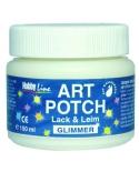 ART POTCH klijai/lakas(su blizgučių efektu)150ml