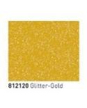 Kontūrinia dažai, splv. Auksinė su aukso spalvos blizgučiais (Glitter Gold) 20ml