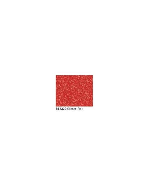 Kontūriniai dažai, splv.Raudona su raudonos spalvos blizgučiais (Glitter Red) 20ml
