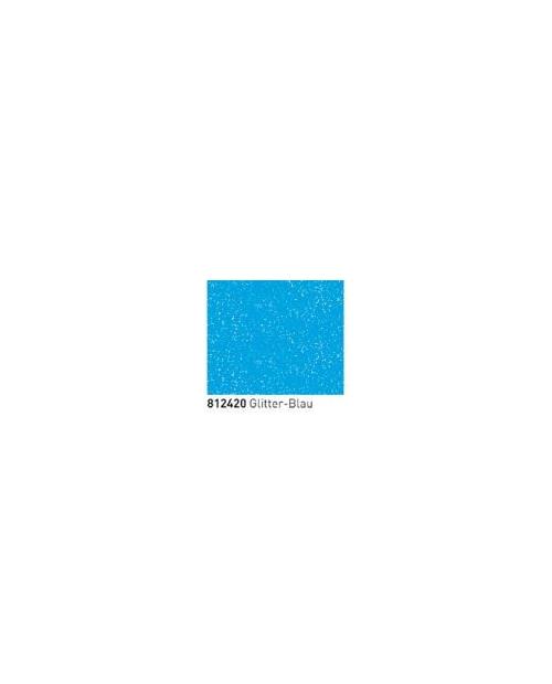Kontūriniai dažai, splv. Mėlyna su mėlynos spalvos blizgučiais (Glitter Blue) 20ml