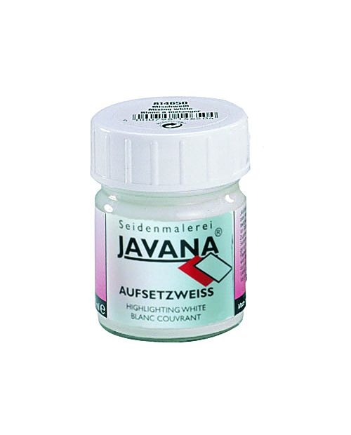 JAVANA balti dažai (dengiantys) 50 ml (Highlighting White)
