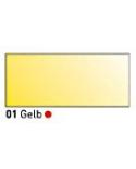 """""""Vitražiniai"""" skaidrūs dažai (Transparent Glass Paint) 50ml, Geltona (Yellow)"""