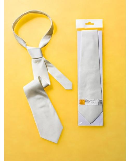 Šilkinis kaklaraištis, ponge08, 142x9,5cm