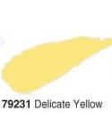 Akrilinė blizgi emalė/lakas 50ml, Švelni Geltona (Delicate yellow)