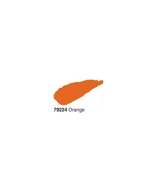 Akrilinė blizgi emalė/lakas 50ml, Oranžinė (Orange)