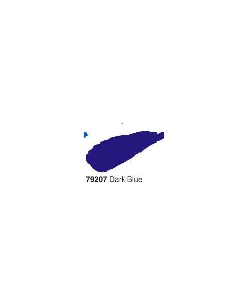 Akrilinė blizgi emalė/lakas 50ml, Tamsi Mėlyna (Dark blue)