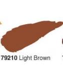 Akrilinė blizgi emalė/lakas 50ml, Šviesi Ruda (Light brown)