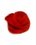 Australijos Merino Sluoksna 18 Mic Skaisčiai raudona(Passion)
