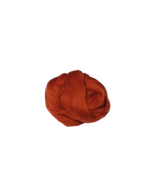 Australijos Merino Sluoksna 18 Mic Rūdžių ruda (Rust)