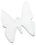 Šilko paveikslėlis, drugelis 26x26cm Ponge 08)
