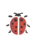 Trafaretas 7x10cm Boružė (Ladybird)