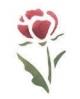 Trafaretai 7x10cm Rose