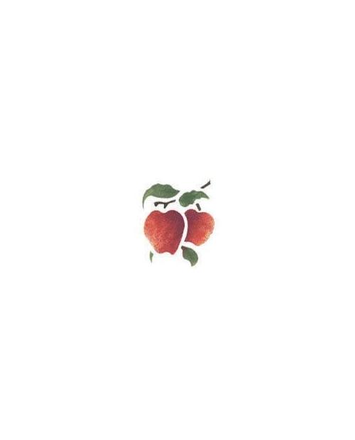 Trafaretas 7x10cm Obuoliukai (Apple)