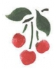Trafaretai 7x10cm Cherries