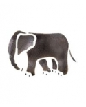 Trafaretas 7x10cm Dramblys (Elephant)