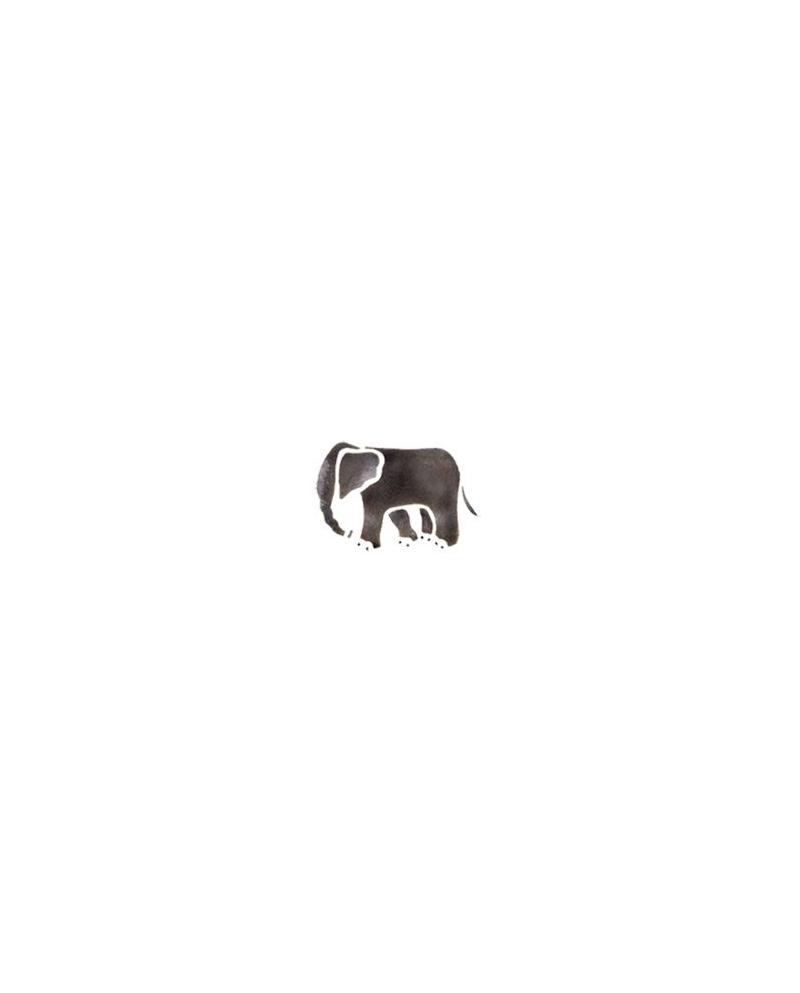Trafaretai 7x10cm Elephant