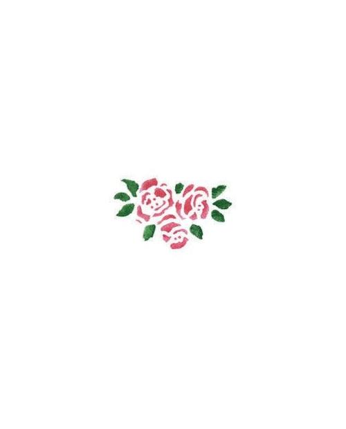 Trafaretai 13 x 16cm Rose blooms