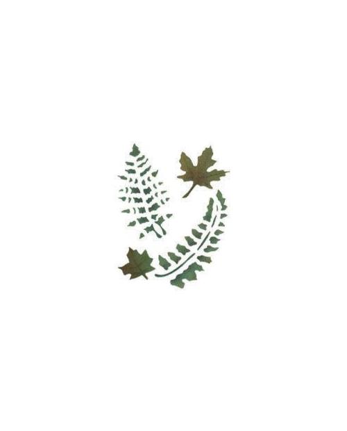 Trafaretas 18 x 24cm Paparčio Lapai (Fern leaves)