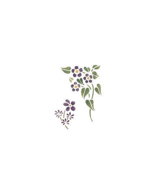Trafaretai 18 x 24cm Kvapioji Našlaitė (Viola)