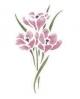Trafaretai 18 x 24cm Flower bouquet