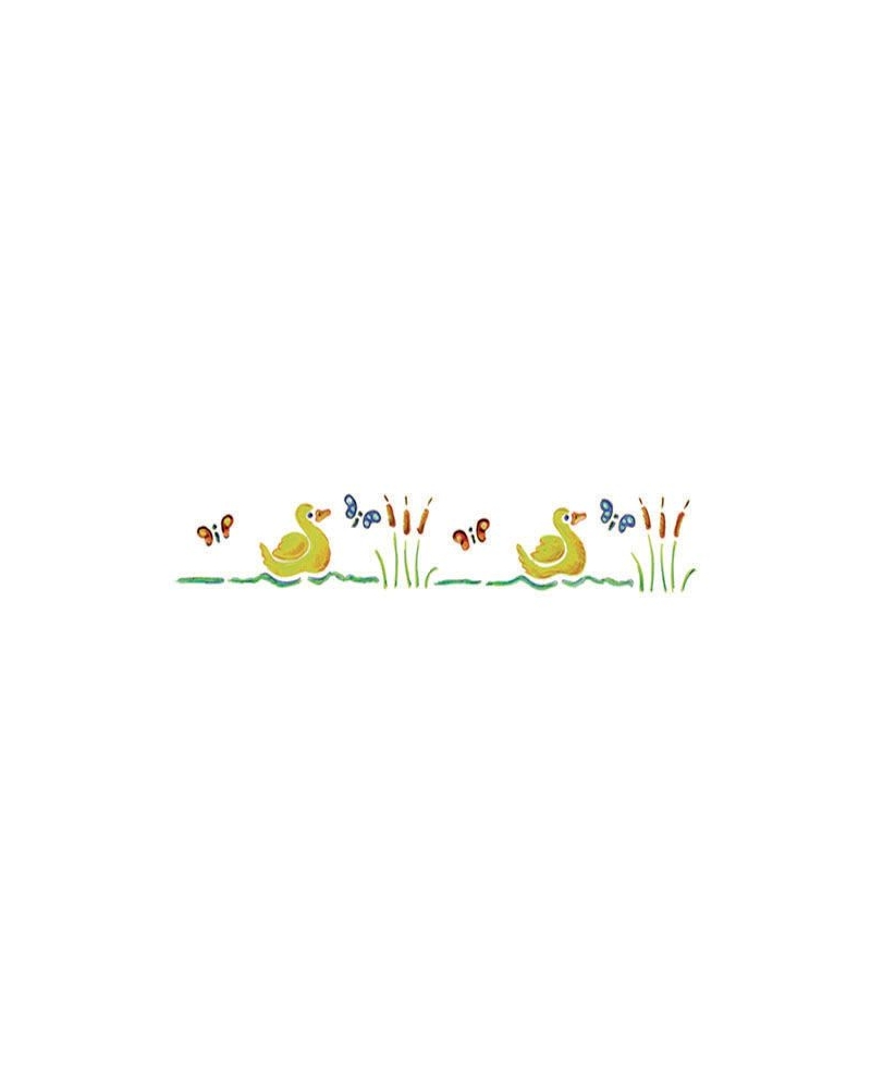 Trafaretai 11 x 70 cm Ducks