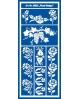 Trafaretai 18 x 24cm Floral Design