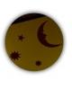 Trafaretai XXL Sun,moon,stars
