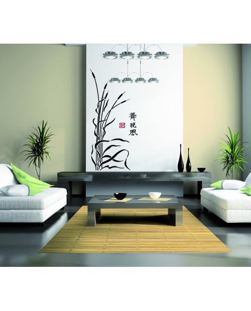 Trafaretas 70x200 cm, Japoniškos Nendrės (Japanese seaweed)